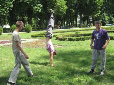 Віталій (зліва), Влад (по центру), Євгеній (Jake)