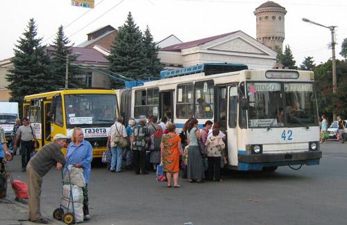 Полтавські тролейбусники підрахували пільговиків