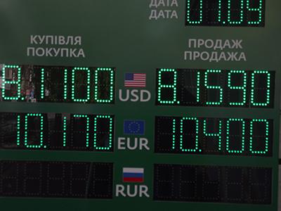 Курс валют полтава