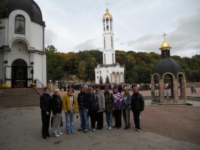 Полтавські правоохоронці повернулися з паломництва на Тернопільщині