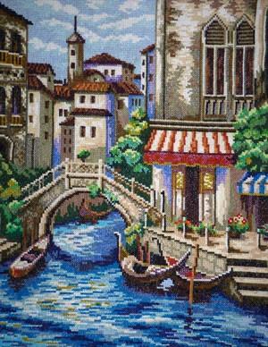 Вышитая картина «Венеция»