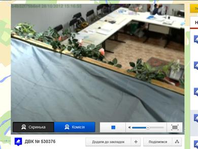 Веб-камера на УИК № 530376