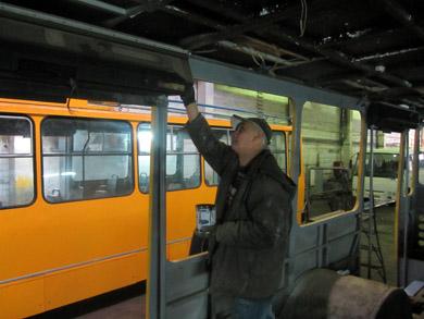 Капітальний ремонт полтавських тролейбусів