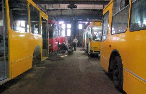 Полтавські тролейбусники відкапіталять ще три тролейбуси «ЮМЗ»