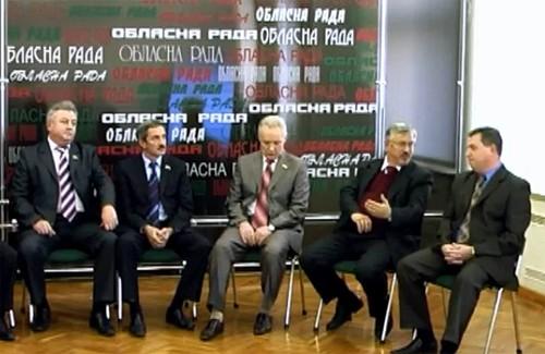 Відео-дебати представників фракцій Полтавської обласної ради