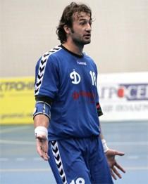 Юрій Хауха, гравець «Динамо»