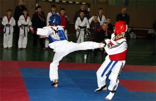 Турнір з тхеквондо серед юнаків та кадетів