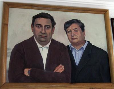 Николай Касьян с сыном