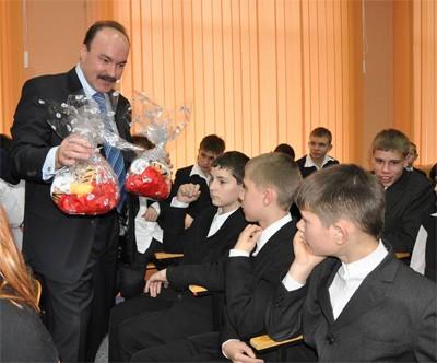 Подарунки від Михайла Цимбалюка