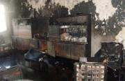 Пожар в Кременчуге: 18 людей эвакуировано, один погиб