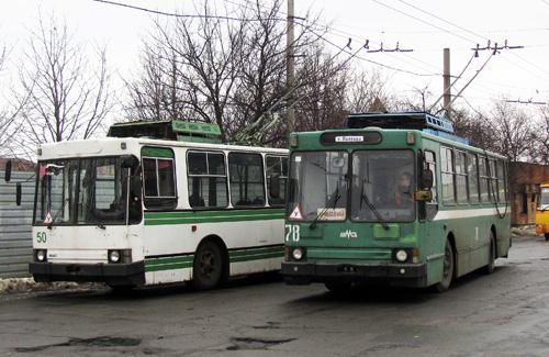 Учбові тролейбуси КП «Полтаваелетроавтотранс»