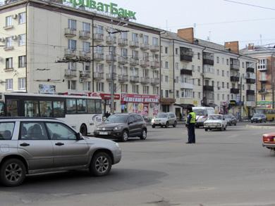 Віталій Захарченко приїхав до Полтави захистити наукову роботу