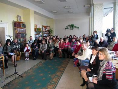 У Лубнах з творчим ювілеєм привітали Наталію Баклай