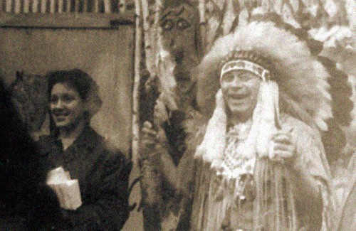 Вождь індіанського племені родом із Диканщини Іван Даценко