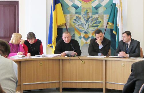 Офіційно засідання проводив заступник мера Полтави Олександр Найпак. Фактично — громада міста.