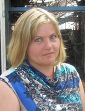 Марина Лещук (продавец сгоревшего кафе «Полтавский каравай»):