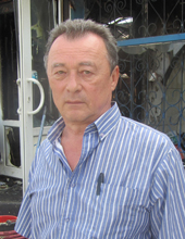 Владелец сгоревших кафе «Полтавский каравай» и магазина «Господарчі товари» Владимир