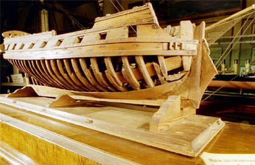 Макет боевого корабля «Полтава»