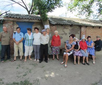 Мешканці селища Копили