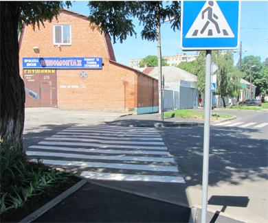 «Зебра» на улице Володарского
