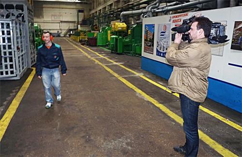 Працівник кременчуцького заводу бере участь у проекті «Танцюють всі»