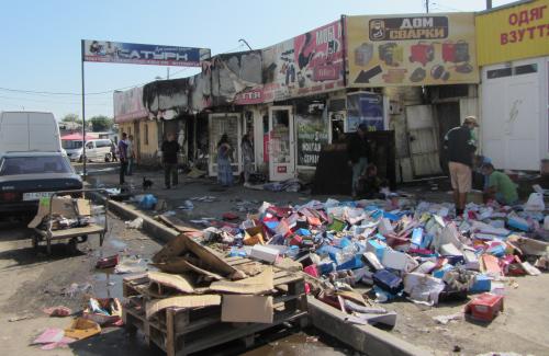 3d1af62923e0da «Погорелые» полтавские предприниматели считают, что их магазины умышленно  подожгли