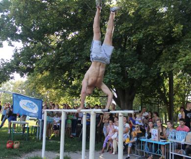 У Чутівській школі відбулося спортивне свято зі «Street workout»