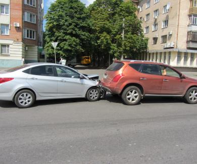 ДТП на вулиці Сінна