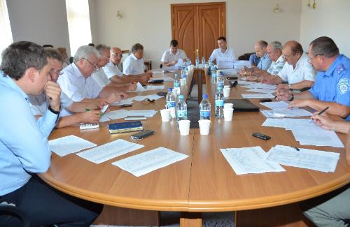 Засідання конкурсного комітету з визначення перевізників