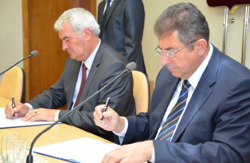 Олександр Удовченко та Георгі Рачев