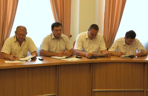Засідання міської Ради з питань безпечної життєдіяльності населення