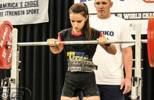 Тамара Стенкова, вес штанги — 160 кг