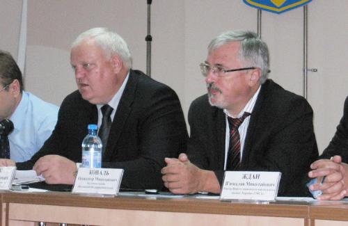 Віктор Лисак та Олександр Коваль