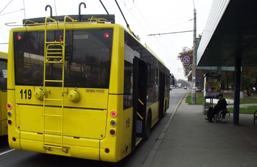 Троллейбус КП «Полтаваэлектроавтотранс»