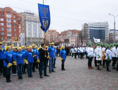 «Флешмоб» полтавських студентів