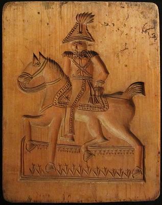 Формочка із дерева для виготовлення пряників (ХІХ століття)