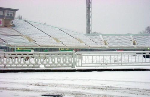 Стадион «Ворскла» перед матчем с «Закарпатьем»