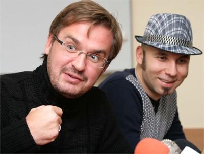 Олександр Пономарьов та Вадим Красноокий з гурту Mad Heads XL