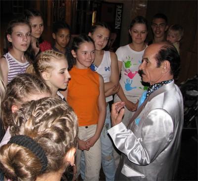 Кременчуцькі степісти танцювали з Григорієм Чапкісом