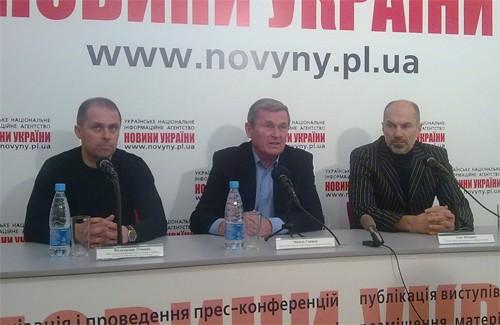 Прес-конференція директора Полтавської дитячо-юнацької спортивної школи №5 Василя Синиці