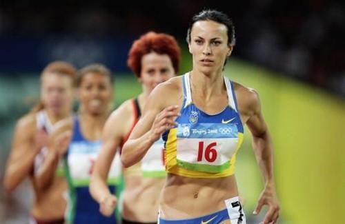 Ганна Мельниченко на Олімпійських іграх в Пекіні
