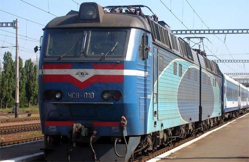 Поезд №161 Харьков-Киев «Столичный Экспресс»