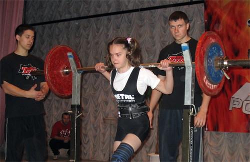 Тамара Стєнкова на змаганнях у Полтаві, 2007р