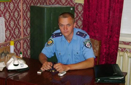 Дільничний інспектор Володимир Литвиненко