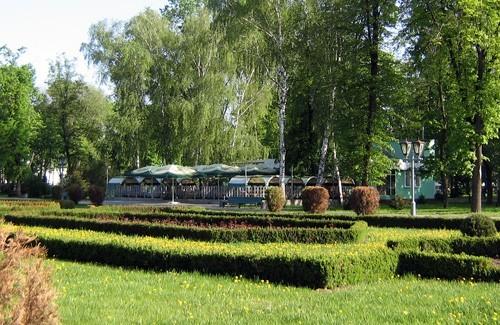 Кафе «Берізка» в історичному парку Полтави