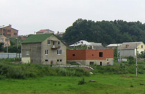 Територія індивідуальної забудови у с. Яр (Полтава)