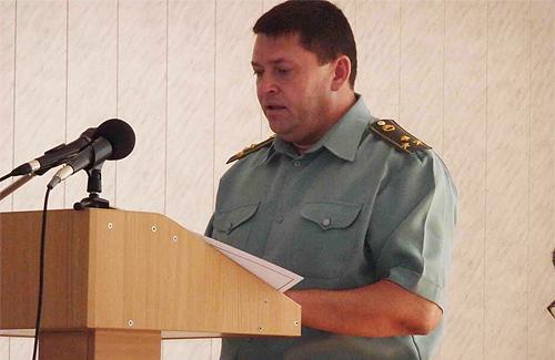 Полковник Сергій Полтавець проводить аналіз роботи військкоматів по організації весняного призову