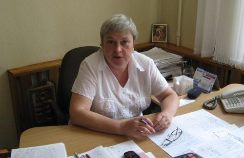 Головний лікар Полтавської обласної дитячої лікарні Наталія Кінаш