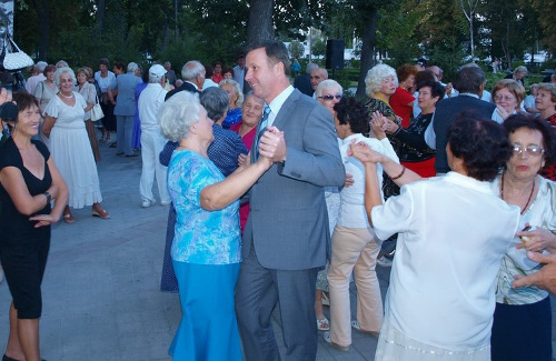 У минулі вихідні Андрій Матковський встиг потанцювати