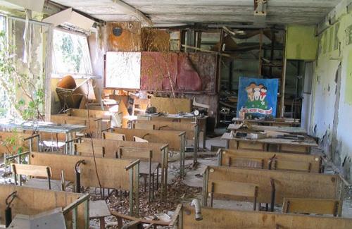 Покинута школа